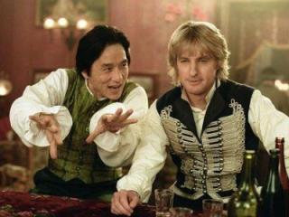 Jackie Chan and Owen Wilson in Shanghai Knights (2003) (Deseret Photo)