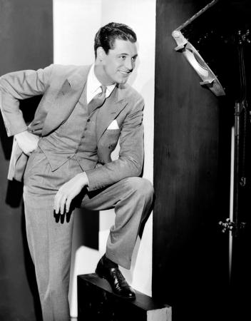 A portrait of dapper Cary Grant when he was still in his 20s and began starring and co-starring in a variety of 1930s movies. (Deseret Photo)