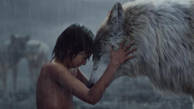"""The Jungle Book"" features Mowgli (Neel Sethi, left) and Raksha (voiced by Lupita Nyong'o). (Deseret Photo)"