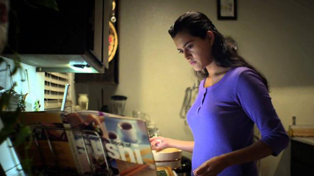 "A Mexican-American foodie (Diana Elizabeth Torres) stays up late every night for a year to teach herself how to cook sushi in the charming independent film ""East Side Sushi,"" now on DVD. (Deseret Photo)"