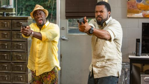 """Kevin Hart (left) and Ice Cube are at it again in the frantic comedy """"Ride Along 2,"""" now on Blu-ray and DVD. (Deseret Photo)"""