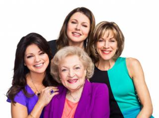 "Clockwise from left, Valerie Bertinelli, Jane Leeves, Wendy Malick and Betty White form the comedy-savvy ensemble for the TV Land sitcom ""Hot in Cleveland,"" now on DVD in a complete series box set. (Deseret Photo)"