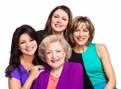 """Clockwise from left, Valerie Bertinelli, Jane Leeves, Wendy Malick and Betty White form the comedy-savvy ensemble for the TV Land sitcom """"Hot in Cleveland,"""" now on DVD in a complete series box set. (Deseret Photo)"""