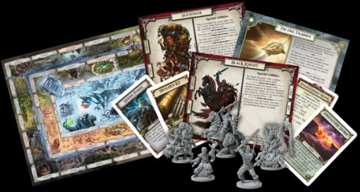 Here's a look at some of the new components found in the game. There are five new characters, four new endings and a host of new cards. This may be Talisman's biggest expansion yet. (Deseret Photo)