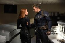 "Scarlett Johansson is Black Widow and Chris Evans is Captain America in ""Captain America: The Winter Soldier,"" one of the year's biggest box-office hits. (Deseret Photo)"