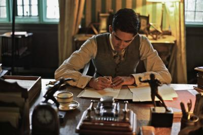"S. Ramanujan (Dev Patel) in ""The Man Who Knew Infinity."" (Deseret Photo)"