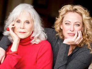 """Filmmaker Elaine Madsen, left, with her daughter, actress Virginia Madsen, the respective director and producer, of the documentary """"I Know a Woman Like That,"""" which is now on DVD. (Deseret Photo)"""