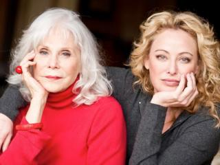 "Filmmaker Elaine Madsen, left, with her daughter, actress Virginia Madsen, the respective director and producer, of the documentary ""I Know a Woman Like That,"" which is now on DVD. (Deseret Photo)"