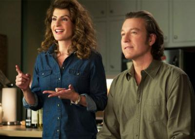 """Nia Vardalos and John Corbett reprise their roles for """"My Big Fat Greek Wedding 2,"""" which arrived in theaters earlier this year, some 14 years after the first film. (Deseret Photo)"""
