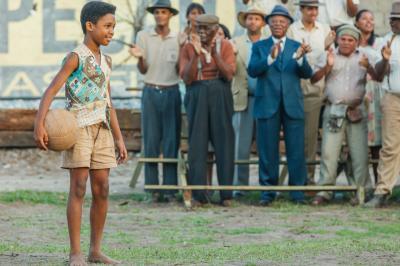 """Young Pelé (Leonardo Lima Carvalho) in """"Pelé: Birth of a Legend."""" (Deseret Photo)"""