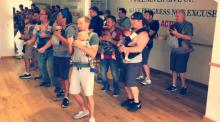IMAGE: Have You Seen This? Dads and babies cut a rug