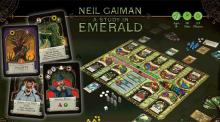 IMAGES: Game review: A Study in Emerald is a secret war of fighting factions