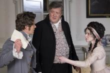 """Xavier Samuel, Stephen Fry and Jenn Murray in """"Love & Friendship"""" (Deseret Photo)"""