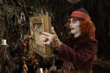 """The Mad Hatter (Johnny Depp) in Disney's """"Alice Through the Looking Glass."""" (Deseret Photo)"""