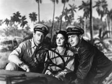 "John Wayne is Lt. (J.G.) ""Rusty"" Ryan, Donna Reed is Lt. Sandy Davyss and Robert Montgomery is Lt. John Brickley in 1945's ""They Were Expendable."" (Deseret Photo)"