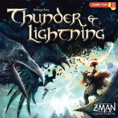 In Thunder & Lightning, players take on the role of Thor or Loki and fight their way through an army in an epic mythological showdown. Because Loki has already stolen Odin's Crown, the Allfather has entrusted his son Thor with his prized ring of power, Draupnir, to help him defeat the vile trickster. Who really has what it takes to gain control over both relics and claim the throne of Asgard? (Deseret Photo)