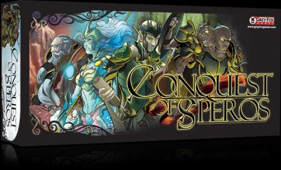 In Conquest of Speros, a quick playing game of area control and resource domination, four competing races work to exercise their dominance over the landscape and to control the export of iron, crystal and gold while also securing ownership of the powerful Ancient Artifacts buried from long ago. You lead a general and his minions. Your mission: Secure the land and destroy anything that gets in your way. (Deseret Photo)