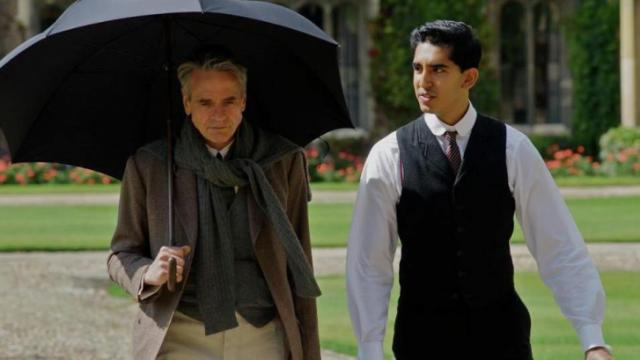 "Jeremy Irons, left, and Dev Patel star in ""The Man Who Knew Infinity,"" a true biographical film now playing in local theaters, and a nice alternative to superhero flicks and cartoons. (Deseret Photo)"