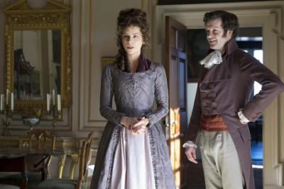 """Kate Beckinsale and scene-stealer Tom Bennett star in """"Love & Friendship,"""" a comedy based on a Jane Austen story that is currently showing in local movie theaters. (Deseret Photo)"""