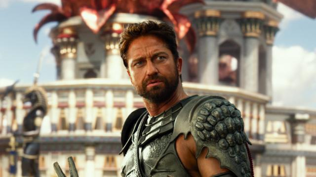 "Gerard Butler is an Egyptian god in ""Gods of Egypt,"" now on Blu-ray and DVD. (Deseret Photo)"
