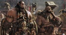 """Orc chieftain Durotan (Toby Kebbell, left) leads his Frostwolf Clan alongside his second-in-command, Orgrim (Rob Kazinsky), in Legendary Pictures and Universal Pictures' """"Warcraft,"""" an epic adventure of world-colliding conflict based on Blizzard Entertainment's global phenomenon. (Deseret Photo)"""