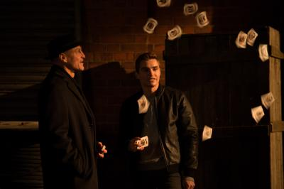 "Merritt McKinney (Woody Harrelson, left) and Jack Wilder (Dave Franco, right) in ""Now You See Me 2."" (Deseret Photo)"