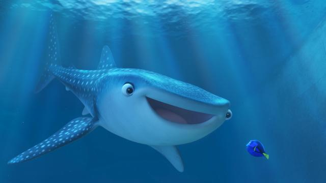 "Destiny is voiced by Kaitlin Olson and Dory is voiced by Ellen DeGeneres in ""Finding Dory."" (Deseret Photo)"