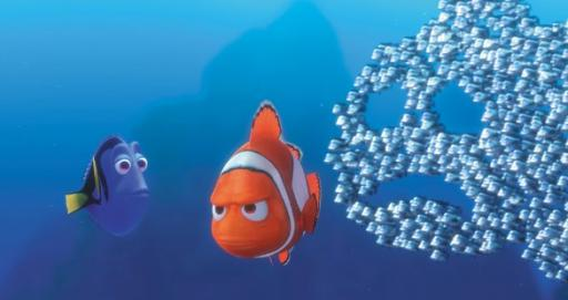 "Dory and Marlin in ""Finding Nemo."" (Deseret Photo)"