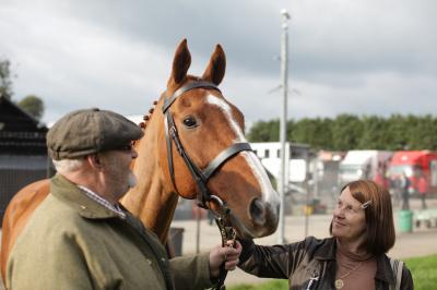 "Brian and Jan Vokes in ""Dark Horse."" (Deseret Photo)"