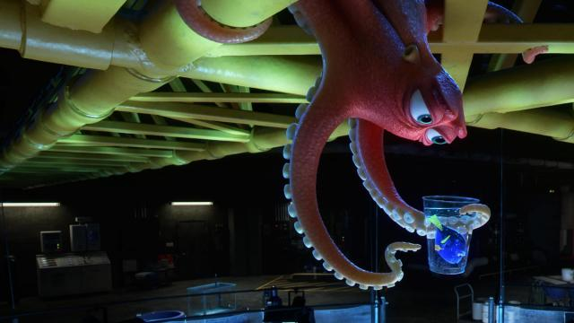 "FINDING DORY – Hank is an octopus—or actually a ""septopus"": he lost a tentacle—along with his sense of humor—somewhere along the way. When Dory finds herself at the Marine Life Institute, a rehabilitation center and aquarium, Hank reluctantly agrees to help her navigate the massive facility. Directed by Andrew Stanton, ""Finding Dory"" opens on June 17, 2016. ©2016 Disney•Pixar. All Rights Reserved. (Deseret Photo)"