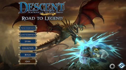 "A variety of options are available on the start screen for the ""Descent Rood to Legend"" app. (Deseret Photo)"