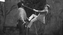 IMAGES: Slapstick comedy is given a bad name by chaotic modern comedies