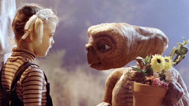 "Gertie (Drew Barrymore) says goodbye to E.T.  in ""E.T. the Extra-Terrestrial."" (Deseret Photo)"