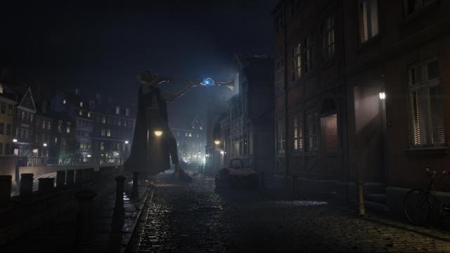 "In Disney's fantasy-adventure ""The BFG,"" directed by Steven Spielberg and based on the best-selling book by Roald Dahl, the Big Friendly Giant (Oscar winner Mark Rylance) from Giant Country, visits London at night when the city is asleep. (Deseret Photo)"