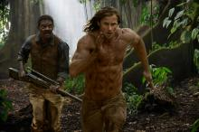 "Samuel L. Jackson as George Washington Williams and Alexandar Skarsgard as Tarzan in Warner Bros. Pictures' and Village Roadshow Pictures' action adventure ""The Legend of Tarzan."" (Deseret Photo)"