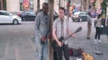 Have You Seen This? Seal jams with a busker