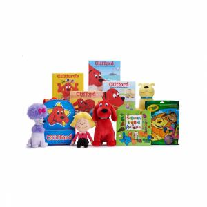 "The latest Kohl's Cares collection features Clifford the Big Red Dog picture books and toys as well as a Crayola art kit and the picture book ""The Scrambled States of America."" (Deseret Photo)"