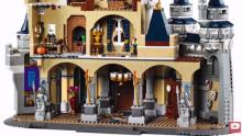 IMAGES: Build a LEGO version of Cinderella's castle for $350