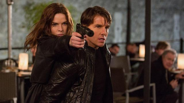Tom Cruise and Rebecca Ferguson in Mission: Impossible - Rogue Nation (2015) (Deseret Photo)