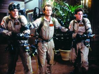 "The original ""Ghostbusters"" (1984), Dan Aykroyd, left, Bill Murray and Harold Ramis. (Deseret Photo)"