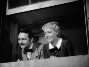"Edward G. Robinson, shown here with Edna Best, is real-life 19th-century international-news reporting pioneer Paul Julius Reuter in the 1940 biographical film ""A Dispatch from Reuters,"" now on DVD for the first time. (Deseret Photo)"