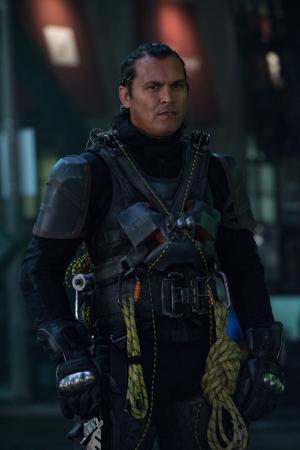 "Adam Beach as Slipknot in ""Suicide Squad."" (Deseret Photo)"