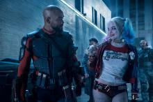 "Will Smith as Deadshot and Margot Robbie as Harley Quinn in ""Suicide Squad."" (Deseret Photo)"