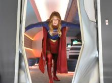 "Superman's cousin (Melissa Benoist) knows how to make an entrance in the first season of the TV series ""Supergirl,"" now on Blu-ray and DVD. (Deseret Photo)"