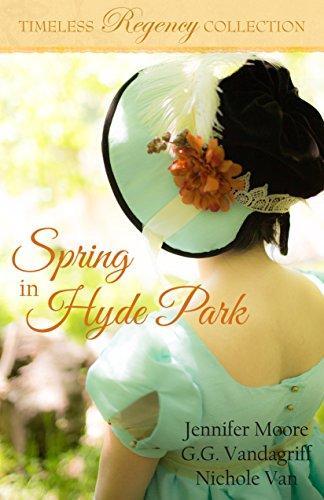 """Spring in Hyde Park"" is by Utah authors Jennifer Moore, G.G. Vandagriff and Nichole Van. (Deseret Photo)"