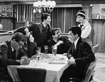 """Act One"" (1963), starring George Hamilton, far right, as Moss Hart, is making its DVD debut. (Deseret Photo)"