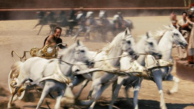 "Charlton Heston as Judah Ben-Hur in the Oscar-winning 1959 epic ""Ben-Hur."" A remake of the film hits theaters Aug. 19. (Deseret Photo)"