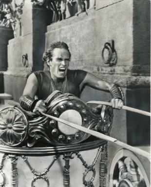 "Charlton Heston as Judah Ben-Hur in 1959's ""Ben-Hur."" (Deseret Photo)"