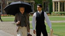 "Jeremy Irons, left, and Dev Patel star in ""The Man Who Knew Infinity,"" now on Blu-ray and DVD. (Deseret Photo)"