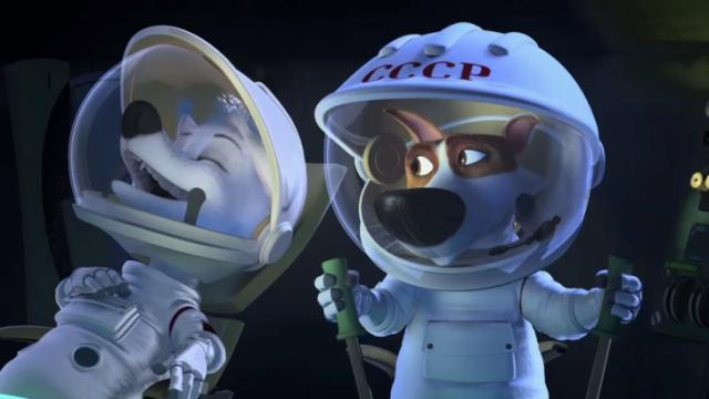 """Space Dogs: Adventure to the Moon."" (Deseret Photo)"